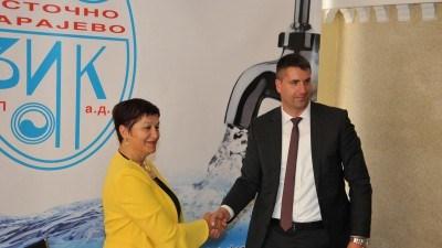 Potpisan ugovor o isporuci vode Kantonu Sarajevo