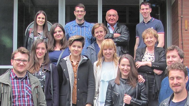 Studenti Građevinskog fakulteta iz Sarajeva posjetili filter postrojenje Tilava