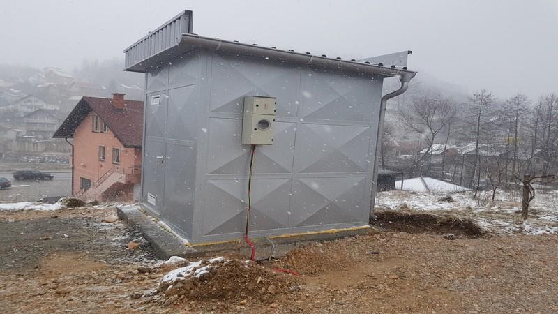 """Puštanje u rad nove pumpne stanice """"Tešanovo brdo"""""""